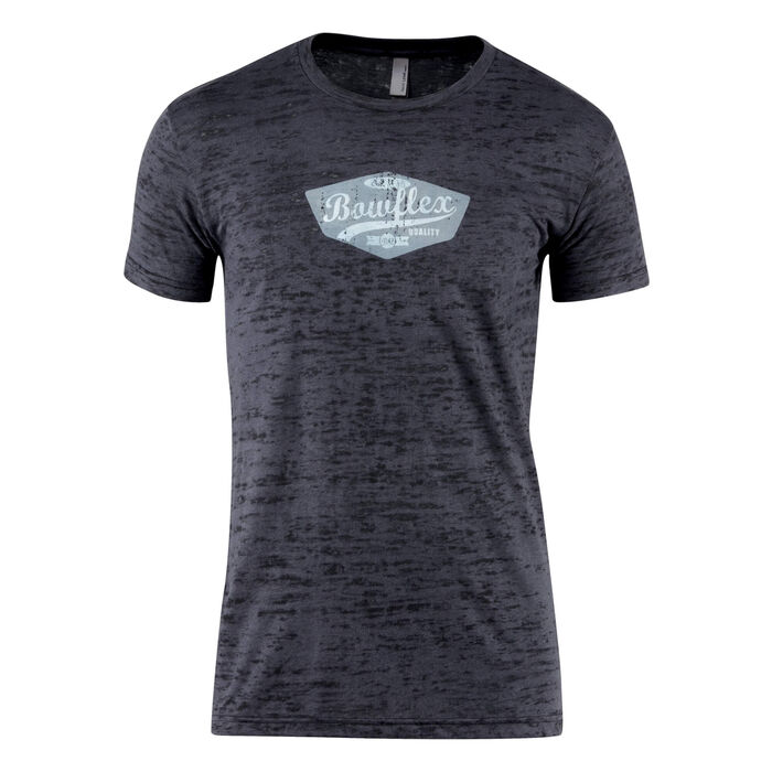 Bowflex Men's Burn Out Tee