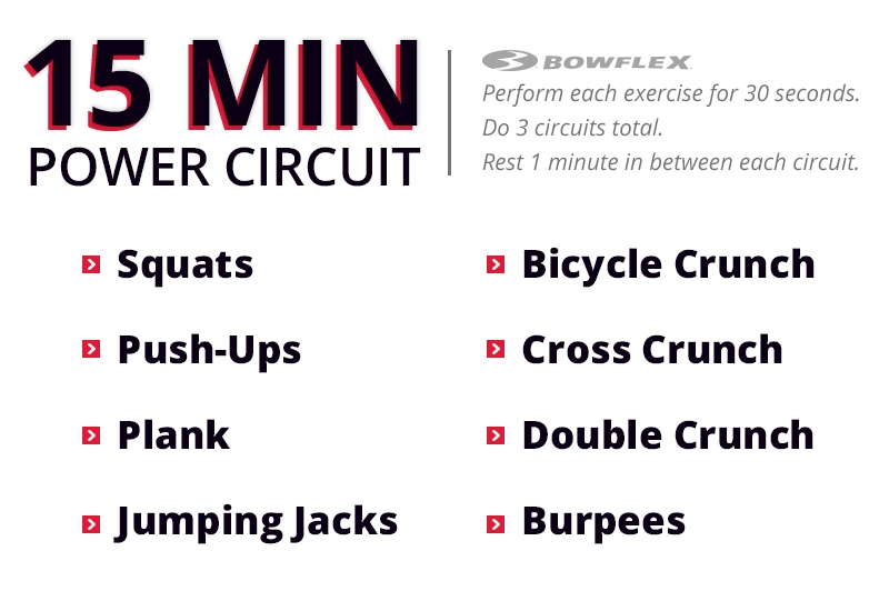 15 Minute Power Circuit