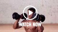 Lunge shoulder press video