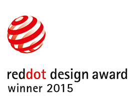 Red Dot Design Award Winner 2015
