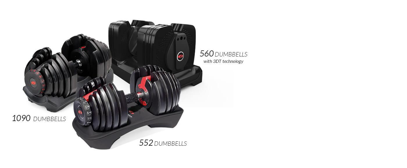 Compare SelectTech Dumbbells