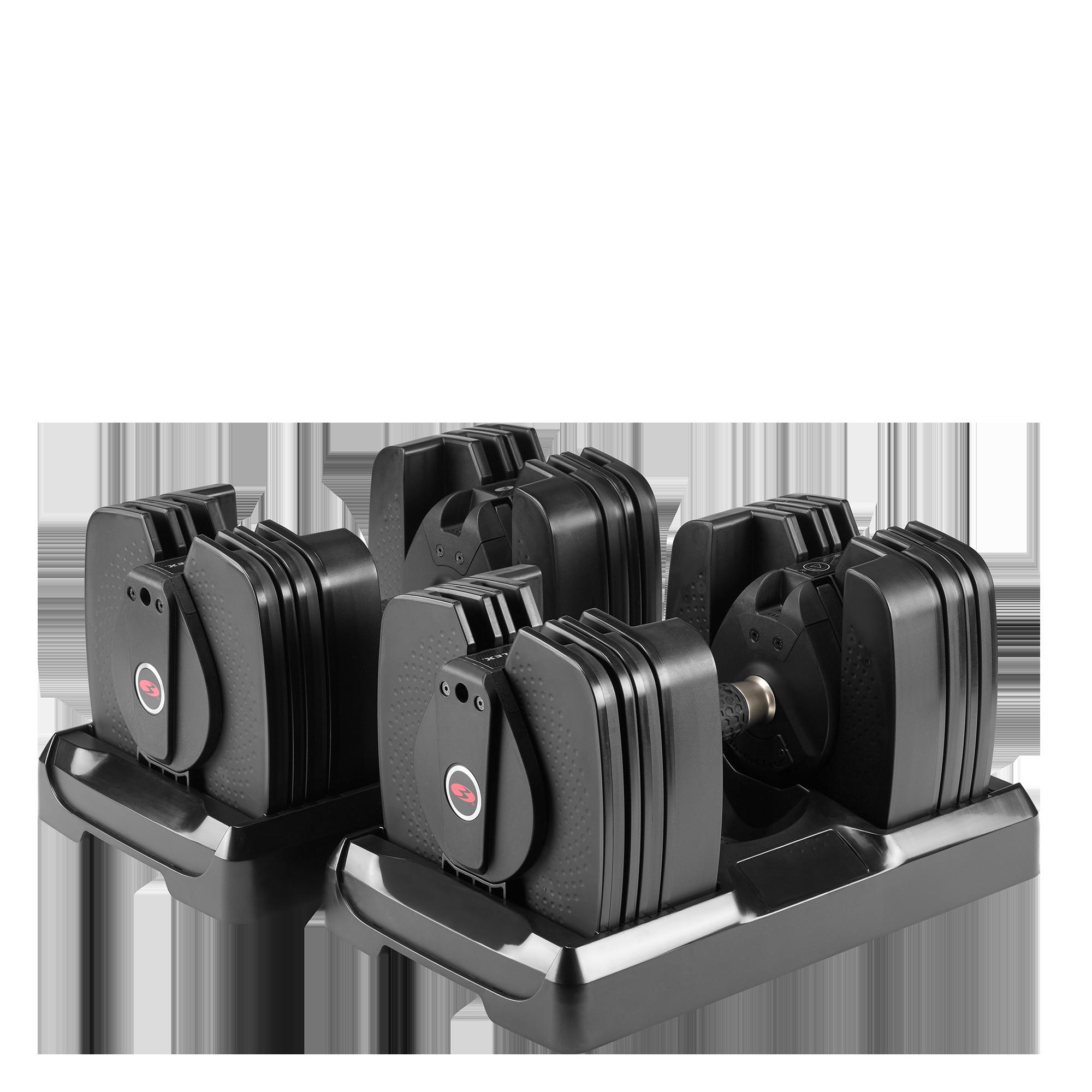 Bowflex Adjustable Dumbbells Used: Bowflex SelectTech 560 Dumbbells
