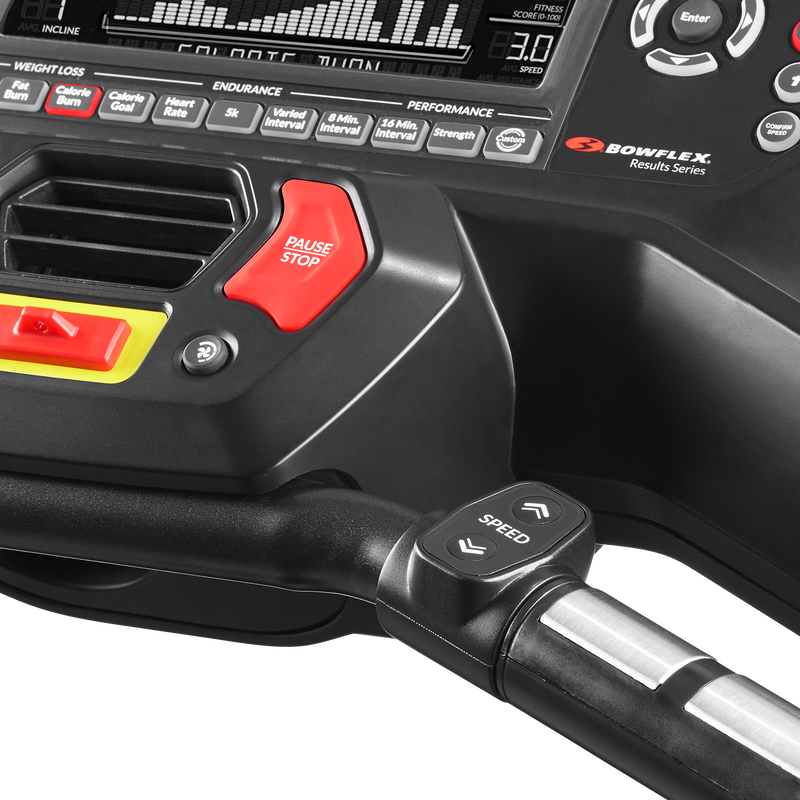BXT216 Treadmill Console - expanded view