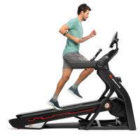 A man using the treadmill 10 in an incline position.--thumbnail