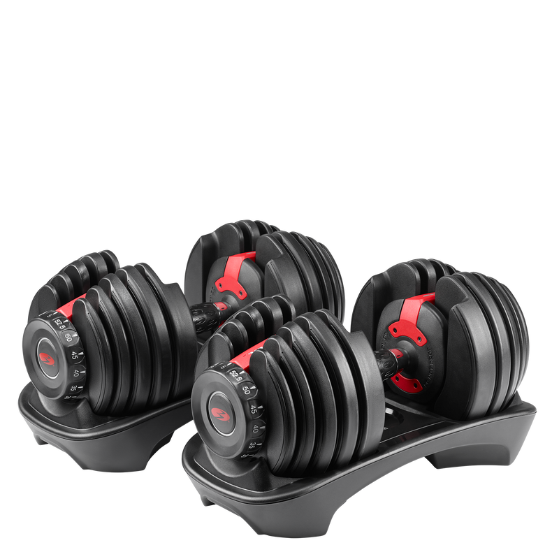 Bowflex SelectTech 552 Adjustable Dumbbells - expanded view
