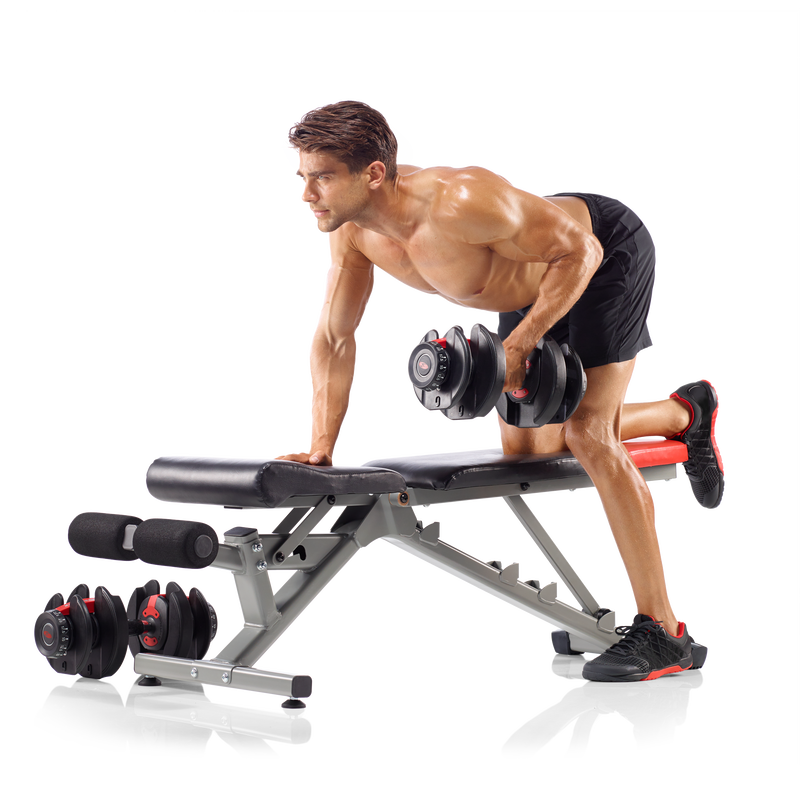 Bowflex 4.1 Bench (Dumbbells Sold Separately) - expanded view