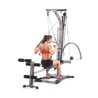 Crossover Pulldown Exercise with Bowflex Blaze Home Gym--thumbnail