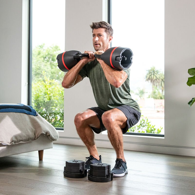 Double Goblet Squat with Two Kettlebells - expanded view
