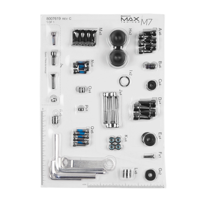 Replacement Hardware Card for Max Trainer M7