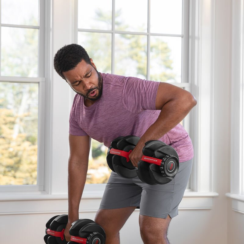 SelectTech 552 Dumbbells Lat Pulls - expanded view