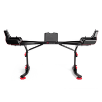 Bowflex SelectTech 2080 Barbell Stand with Media Rack--thumbnail