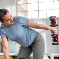 Triceps kickback with SelectTech 552 Dumbbells--thumbnail