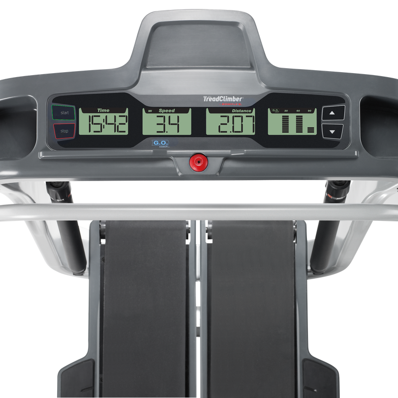 TreadClimber TC10 Console - expanded view