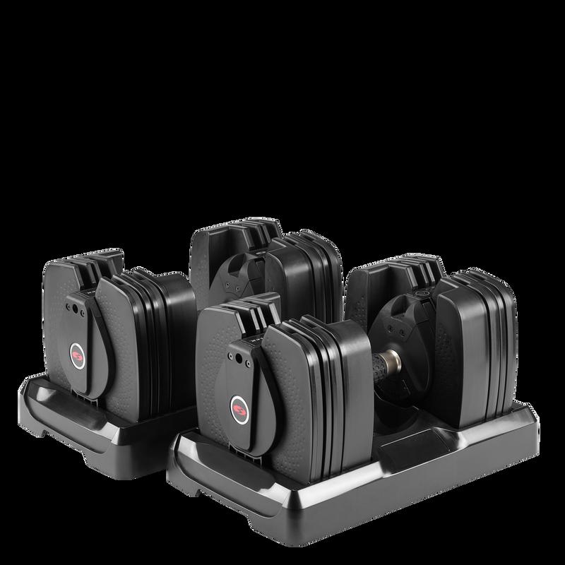 Bowflex SelectTech 560 Adjustable Dumbbells - expanded view