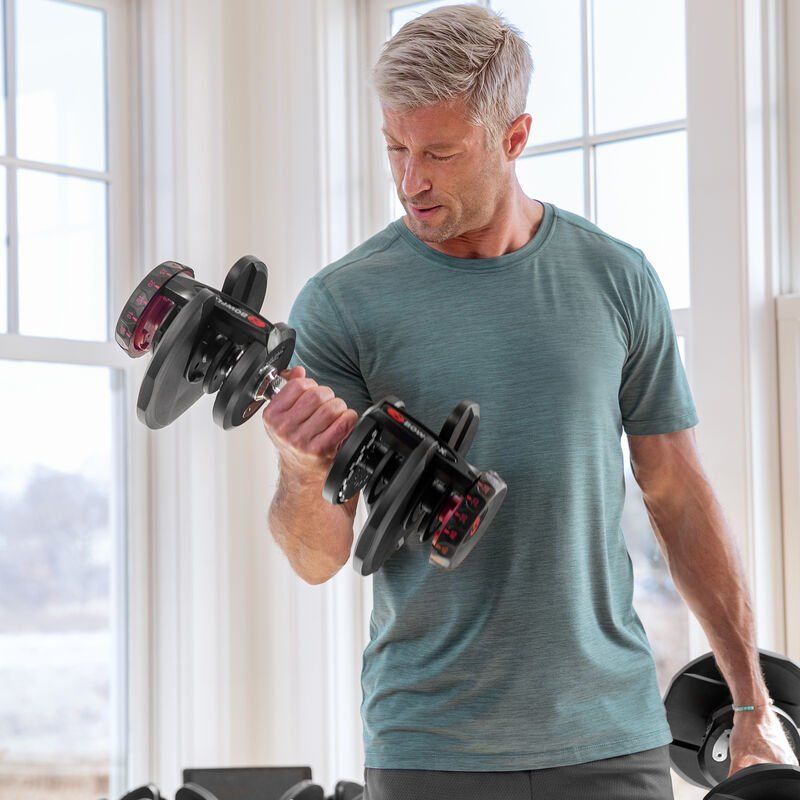 SelectTech 1090 Dumbbells biceps curls - expanded view