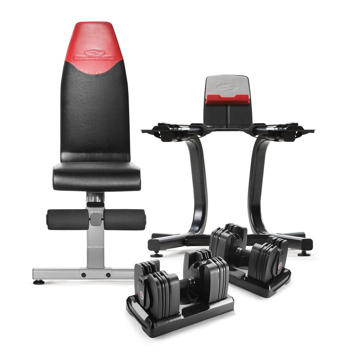 Bowflex SelectTech 560, Bench, and Stand Bundle