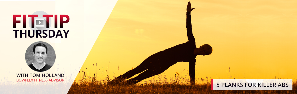 The Silhouette of a man performing a side plank.