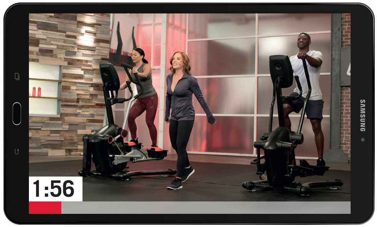 LateralX guided video workouts