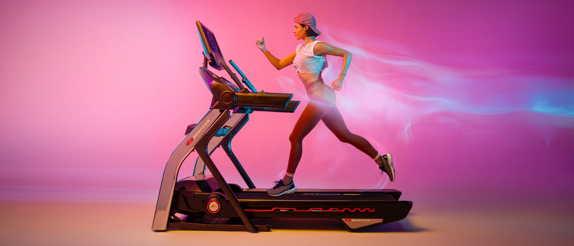 Woman running on Treadmill 22