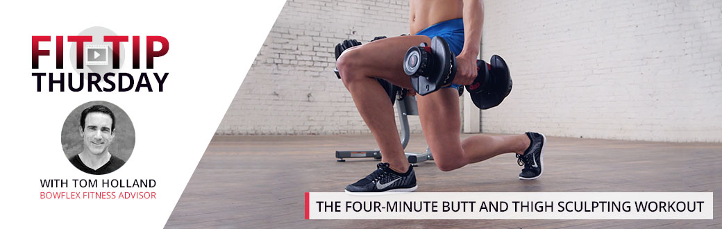 The Four-Minute Butt and Thigh Sculpting Workout