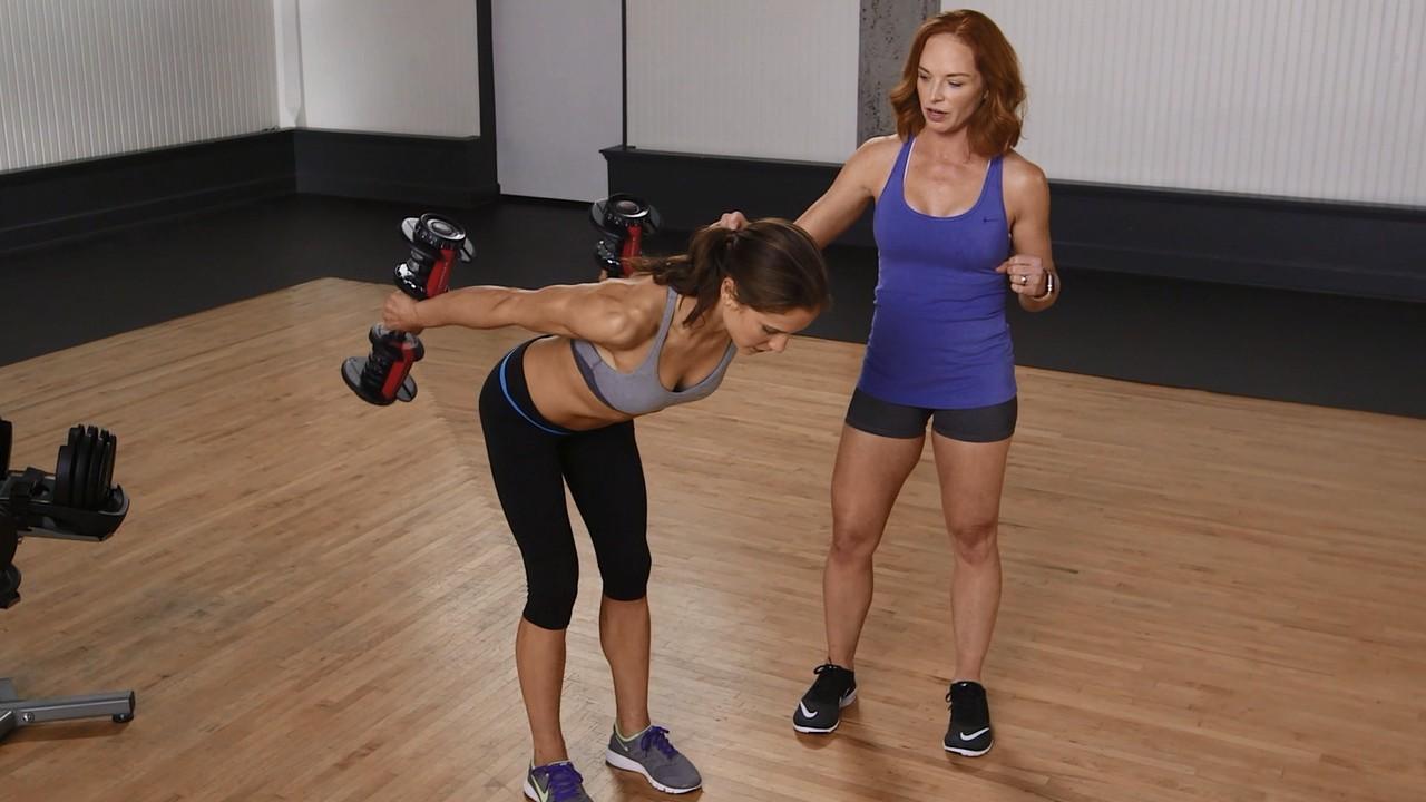 How to do triceps kickbacks for beginners
