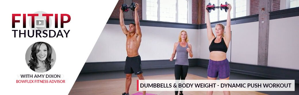 Dumbbells & Bodyweight - Dynamic Push Workout