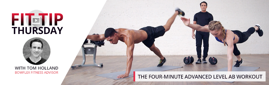 The Four-Minute Advanced Level Ab Workout