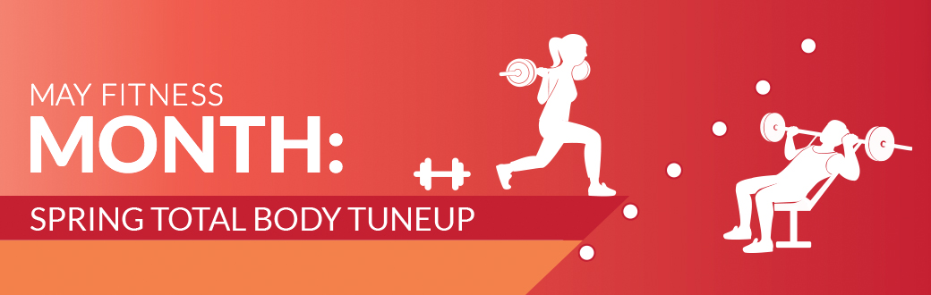 May Fitness Month: Bowflex Spring Total Body Tuneup