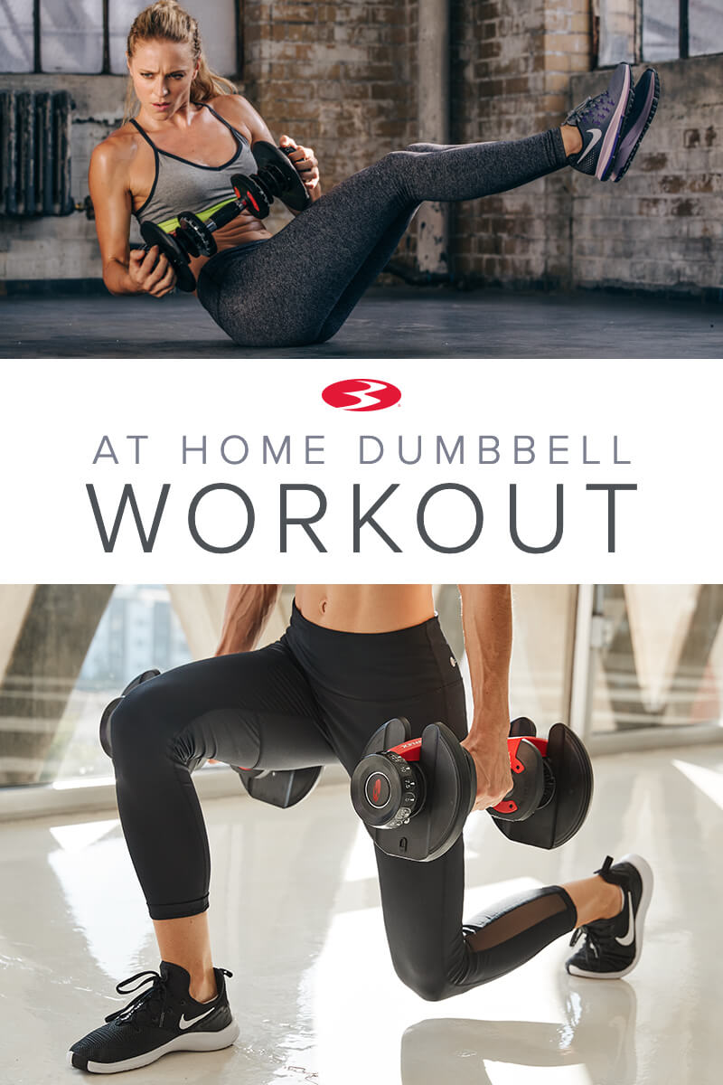 Avoid post-New Year Gym Madness: At Home Dumbbell Workout