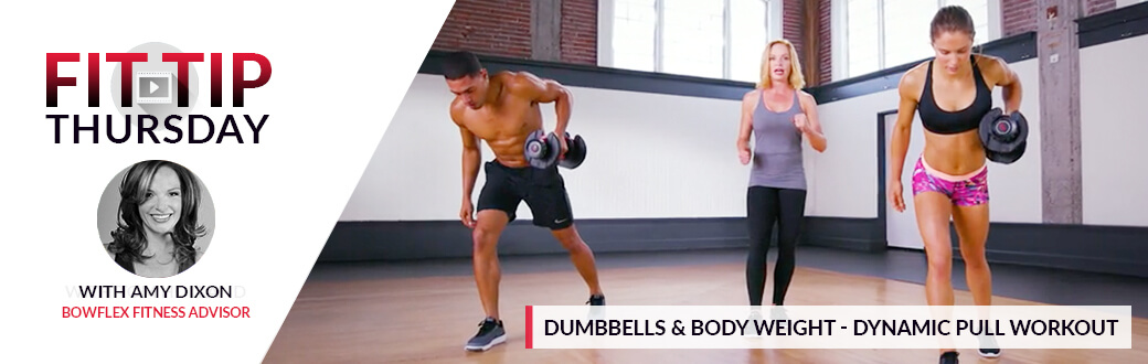 Dumbbells & Bodyweight - Dynamic Pull Workout