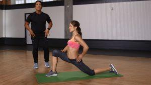 Hip Flexor Stretch Example