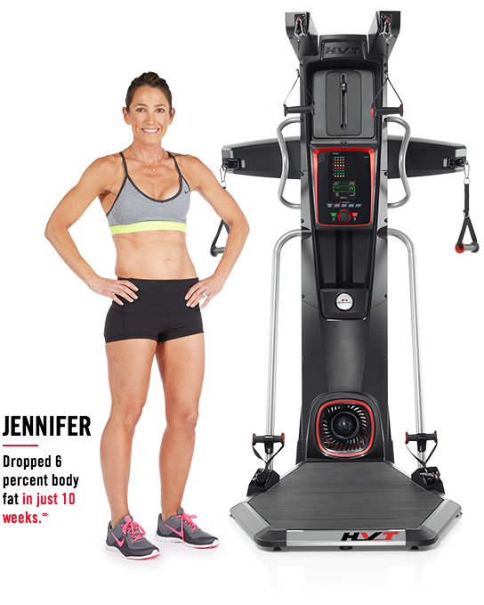 Jennifer dropped 6 percent body fat in just 10 weeks.