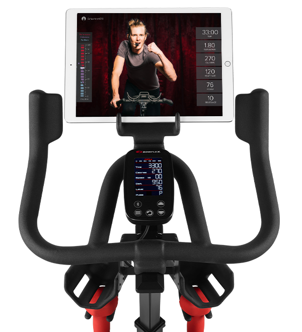 Bowflex C6 Bike Console and handles.