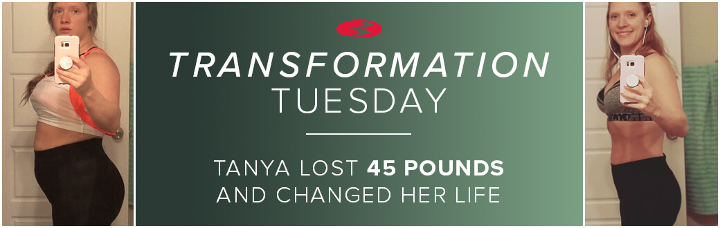 Transformation Tuesday: Tanya Lost 45 Pounds and Changed Her Life