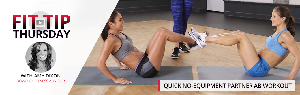 Quick No-Equipment Partner Ab Workout