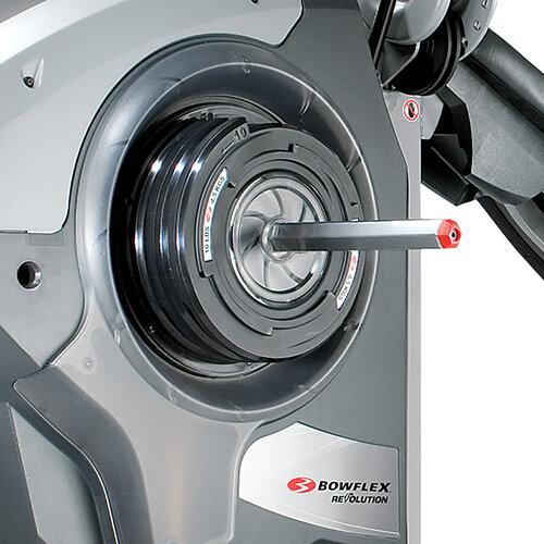 SpiraFlex technology on a Revolution Home Gym.