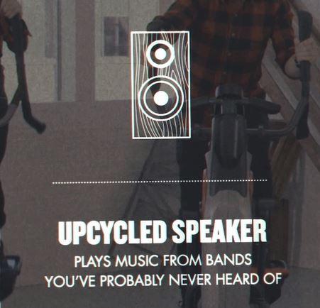 Upcycled Speaker