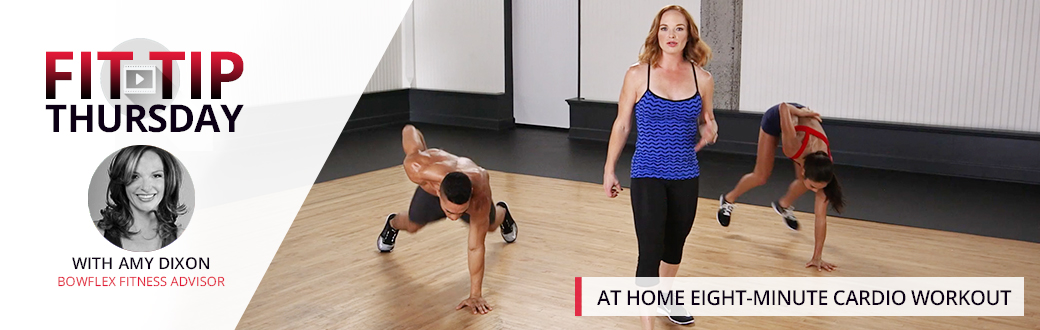At Home Eight-Minute Cardio Workout