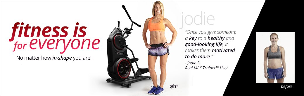 Bowflex Max Trainer weight loss success story