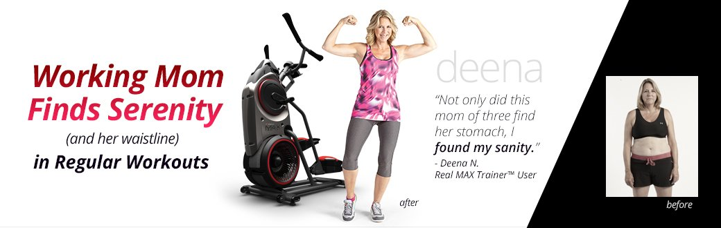 How One Mom Changed Her Life With Bowflex Max Trainer Workouts