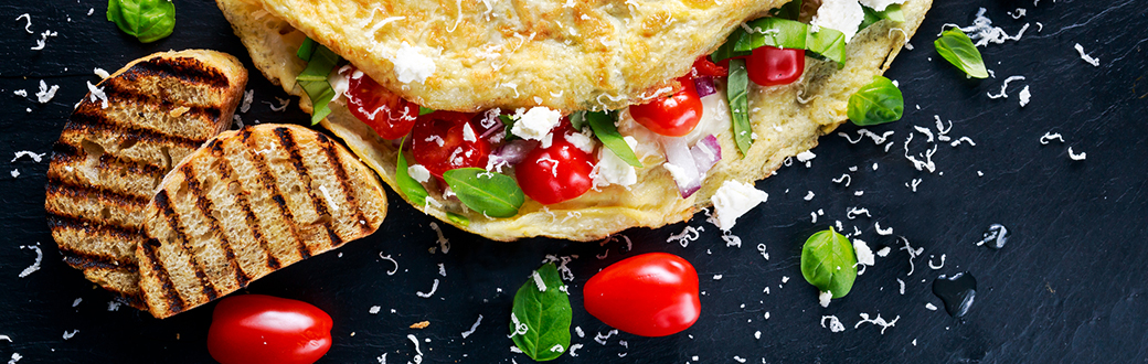 Give Your Breakfast Some Color: Rainbow Omelet Recipe