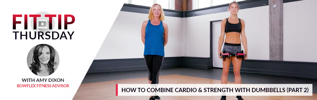 How to Combine Cardio and Strength with Dumbbells - Part 2
