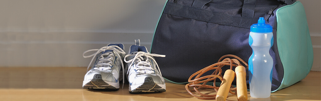 April Showers: How to Keep Yourself and the Content of Your Gym Bag Fresh & Clean