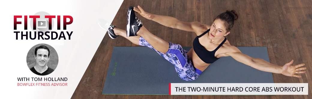 The Two-Minute Hard Core Abs Workout