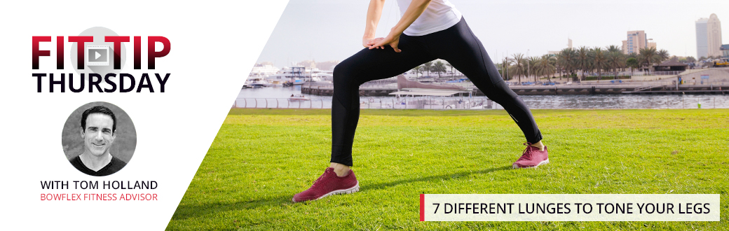 7 Different Lunges to Tone Your Legs