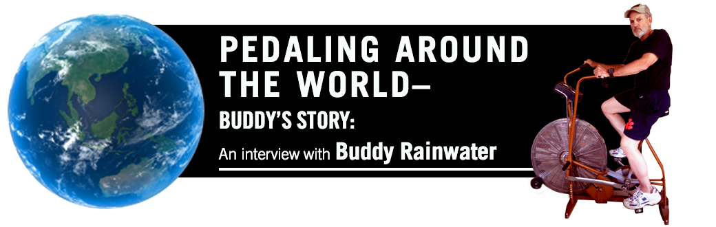 Buddy's Story: Pedaling Around the World