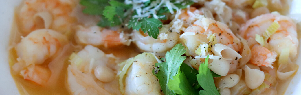 Italian Lemon Shrimp And Bean Stew Recipe Bowflex