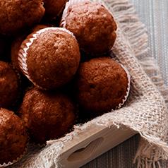 Coconut chocolate pumpkin muffins