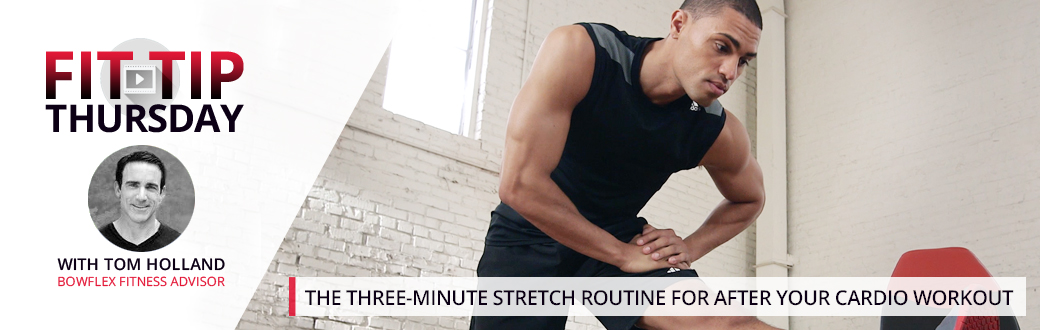 The Three-Minute Stretch Routine for After Your Cardio Workout