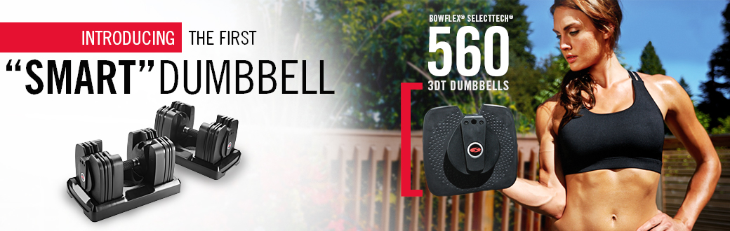 Smart Strength Training: Introducing the Bowflex SelectTech 560 Dumbbells